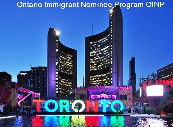 Ontario Immigrant Nominee Program OINP Ganji